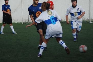 Maria Júlia Loureiro em uma das partidas. Foto: Heytor Gonçalves