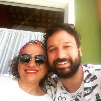 Dona Maria Assunção e Felipe Tessarolo