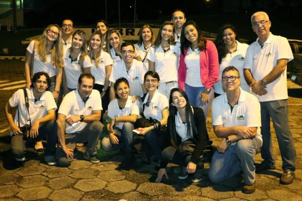 Equipe da Expedição Amazônia 2015. Foto: Facebook Expedição Amazônia Faesa