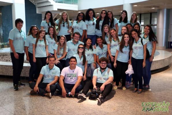 Integrantes da equipe da Expedição Amazônia 2016. Foto: Facebook Expedição Amazônia Faesa