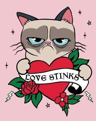 Desenho postado na página oficial do Facebook da gatinha