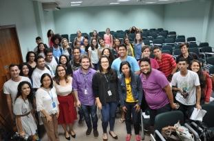 Alunos que participaram da apresentação sobre o GazetaLab / Foto: João Vitor Gomes