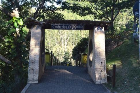 Entrada da Cachoeira de Matilde