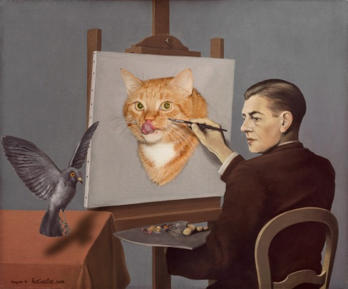 Magritte-Clairvoyance-cat-w