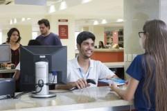Local de empréstimos dos livros / Foto: site oficial da Faesa