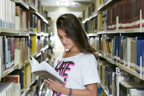 Local do acervo dos livros / Foto: site oficial da Faesa
