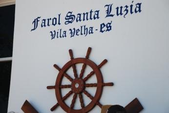 Timão exposto na parede no Farol.