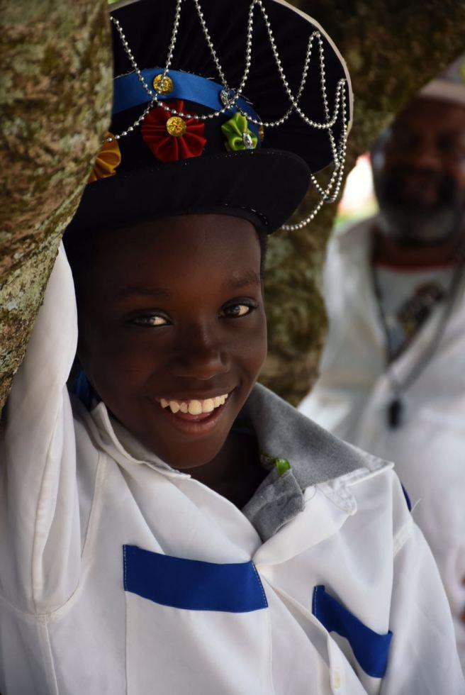 Criança durante a Folia / Foto: Zanete Dadalto