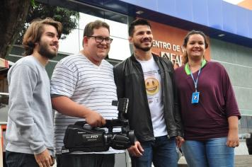 Equipe da TV Faesa - McDia Feliz