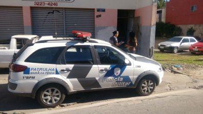Depois de acionada a viatura vai até o local onde se encontra a vítima de agressão / Foto: Amanda Moura