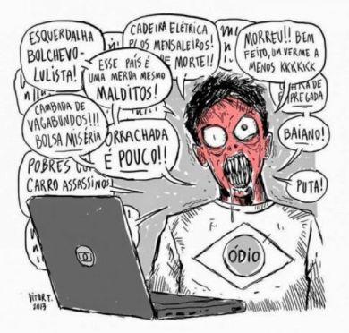 intolerância nas redes sociais