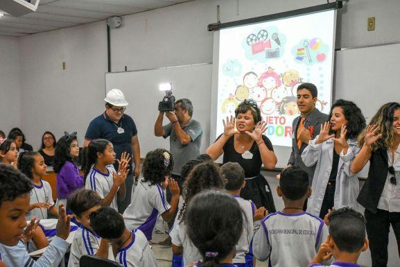 Projeto Lumiar: a fotografia unindo gerações / Foto: Zanete Dadalto