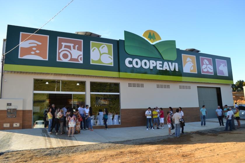 uma das lojas da Coopeavi