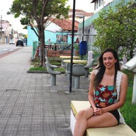 Ariane, minha melhor amiga, Serra-ES. Fonte: Ingrid Nerys
