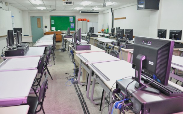 Sala de aula/Foto: Mylena Valim