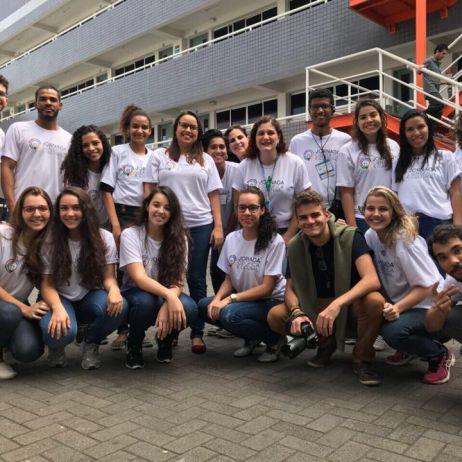 Os alunos que participaram da Jornada Cultural de 2017 / Foto: Acervo pessoal