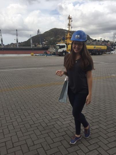 Visita acadêmica ao Porto de Vitória