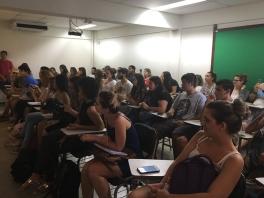 Os alunos do curso de Comunicação Social compareceram em peso ao Dia do TCC / Foto Carine Cardoso