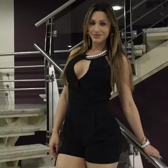 Em 2015, Luiza virou ring girl