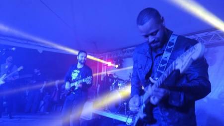 Banda tocou no dia 12.04 no Festival