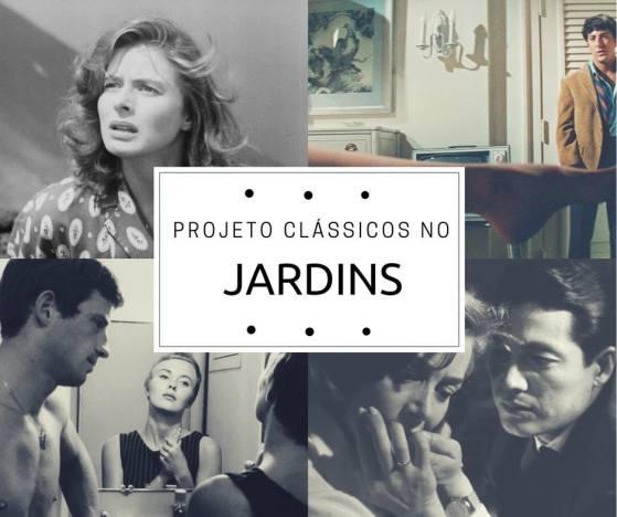 O Projeto Clássico no Jardins exibirá vários clássicos do cinema mundial