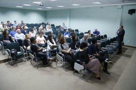 Seminário de Boas Práticas ocorrido no auditório da FAESA.