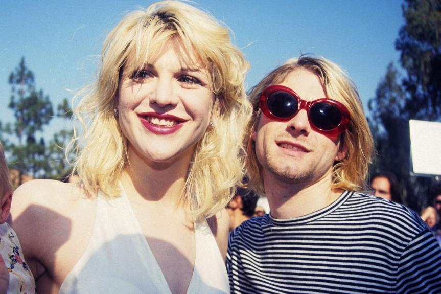 Courtney e Kurt eram um dos casais mais famosos e polêmicos do rock
