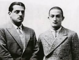 Luis Buñuel e Salvador Dalí