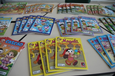Revistas em quadrinhos da Turma da Mônica