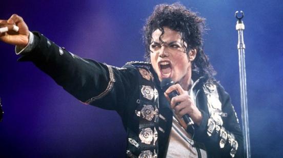 O cantor Michael Jackson