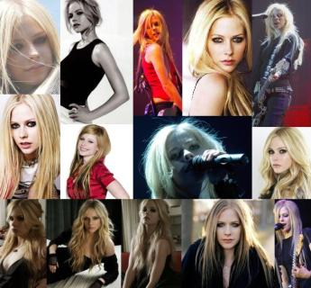 Avril, ou sua sósia, após o segundo álbum
