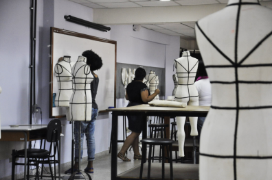 Laboratório de Moulage. Foto: João Vitor Gomes