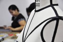 Detalhe do boneco no laboratório de Moulage. Foto: João Vitor Gomes