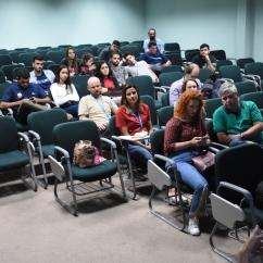 público presente na palestra