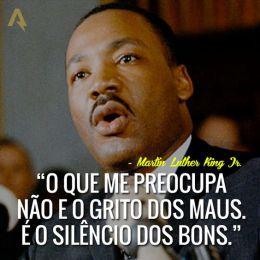 citação de Martin Luther King