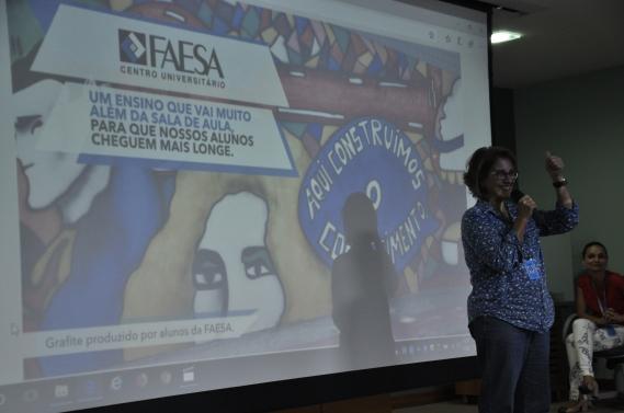 Apresentação do projeto com os alunos da ESD