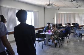 Alunos do Ensino Médio visitam a redação da Agência Integrada