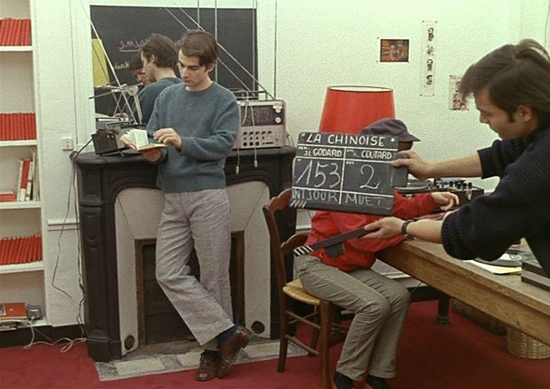 Filmagens de La Chinoise, de Jean-Luc Godard