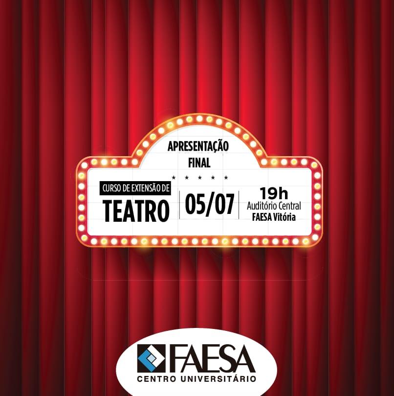 Apresentação Teatro Faesa