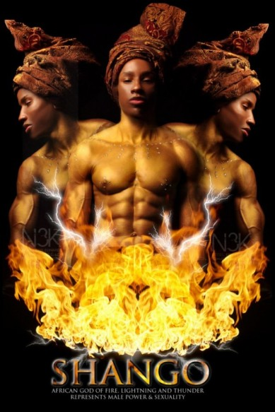 Orishas-by-Noire-3000-aka-James-C.-Lewis-Shango-597x895