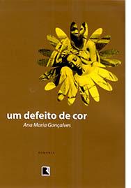 capa do livro um defeito de cor