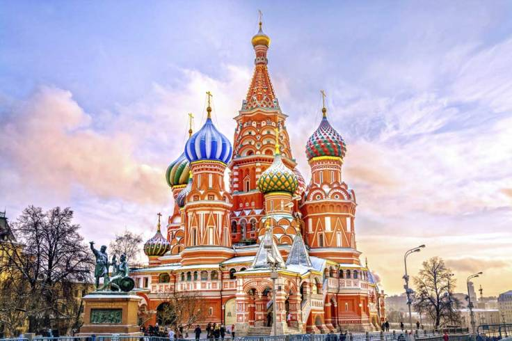 catedral colorida de são basílio