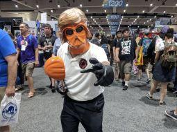 Ator Mark Hammil fantasiado durante a San Diego Comic Con 2018