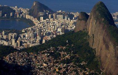 favelas e zona sul do rio