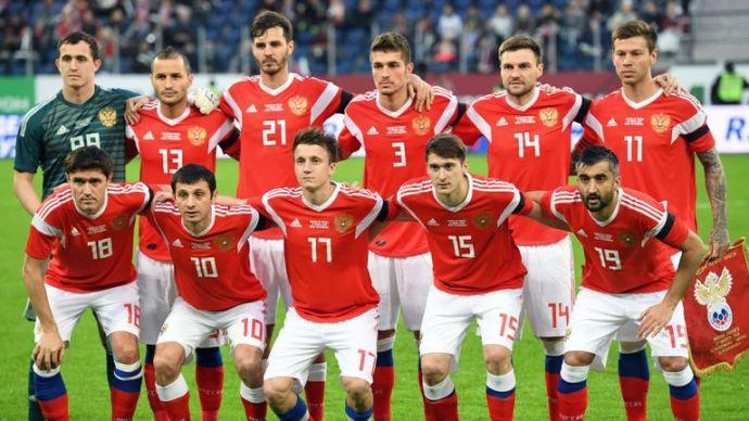 seleção russa de futebol