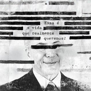 Ele também fez uma postagem, em português, criticando o presidente Temer / Foto: Instagram