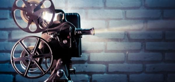 imagem de um projetor de cinema