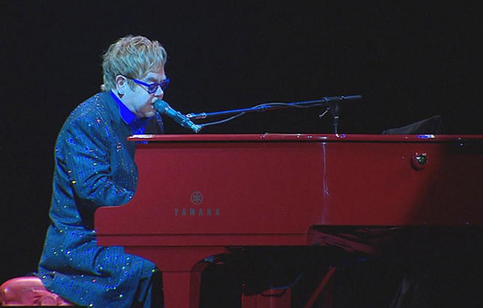 Elton John em Pernambuco