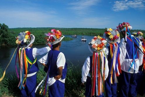 Fotografia de folclore de um festival no Espírito Santo