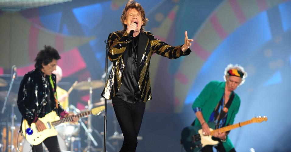 Mick Jagger no Brasil 2016 com rolling stones